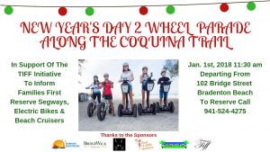 New Year's Day 2 Wheel Parade Along The Coquina Trail | Book A